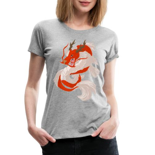 Dragon koi - Maglietta Premium da donna