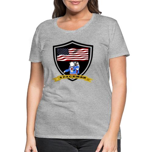 Spaceman Design - Frauen Premium T-Shirt