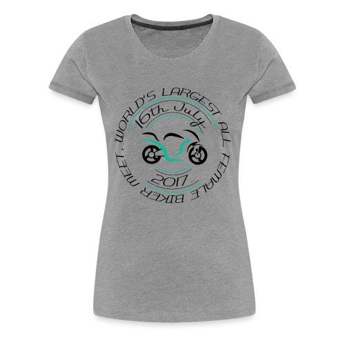 whitetshirt logo png - Women's Premium T-Shirt