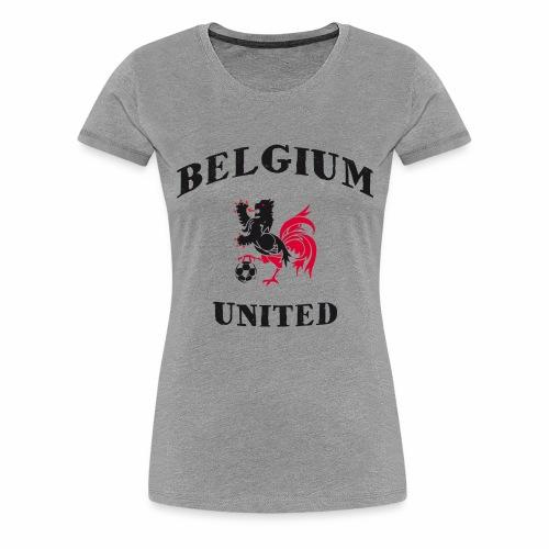 Belgium Unit - Women's Premium T-Shirt