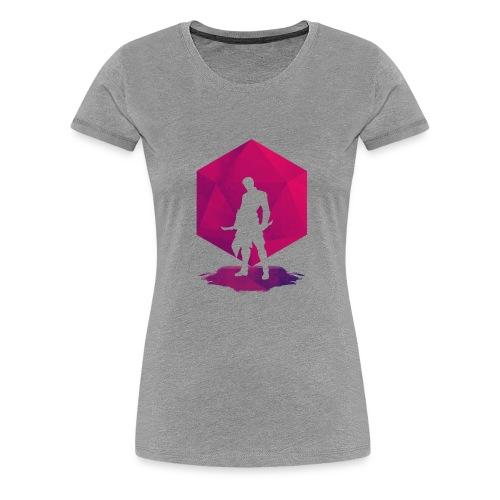 Shadow Assassin - Naisten premium t-paita
