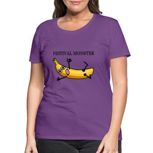 Festival Banane - Frauen Premium T-Shirt