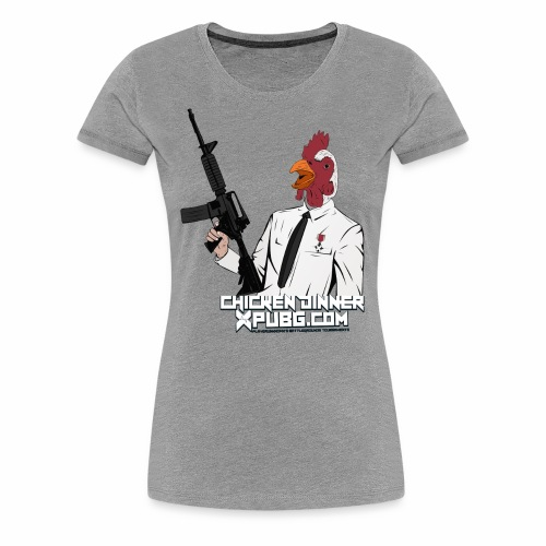 XPuBG Winner winner chicken dinner! - Women's Premium T-Shirt