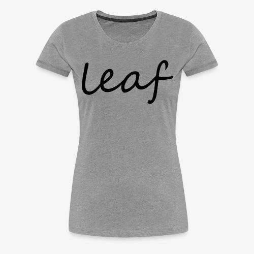 leaf her - Koszulka damska Premium