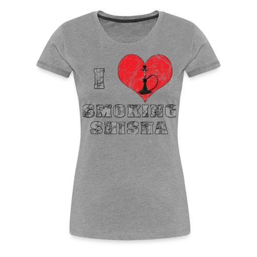 Hookah, shisha - Women's Premium T-Shirt