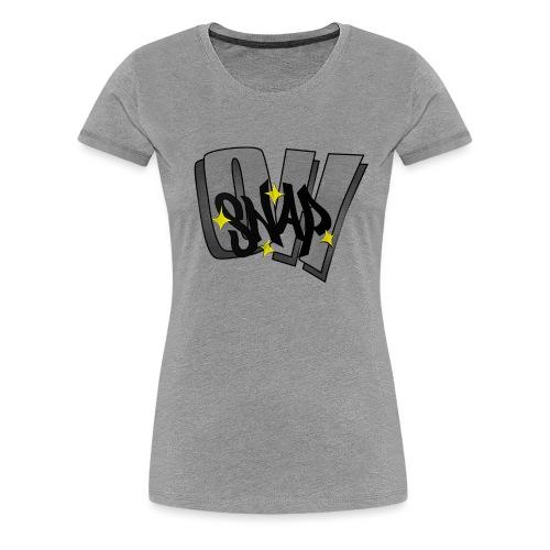 Oh Snap png - Women's Premium T-Shirt