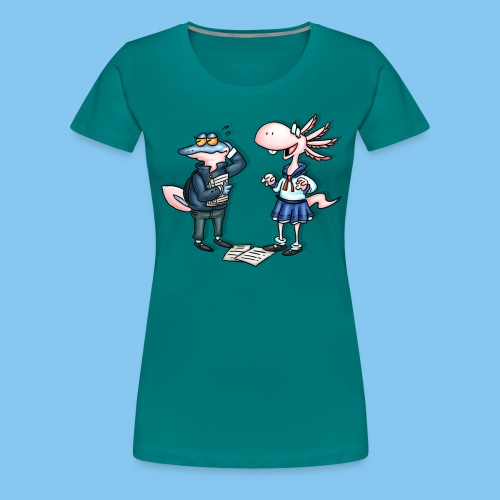 bakka2 png - Women's Premium T-Shirt