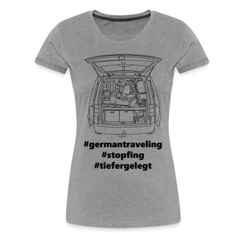 #NumberTwo - Frauen Premium T-Shirt