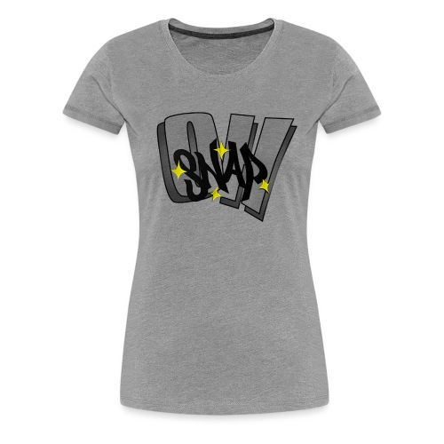 Oh Snap png - Women's Premium T-Shirt