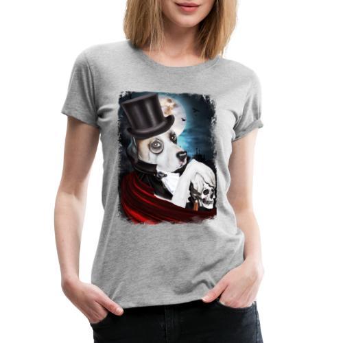 Gothic Dog #2 - Maglietta Premium da donna