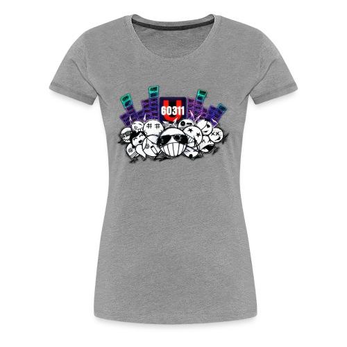U60311 Headz - Frauen Premium T-Shirt