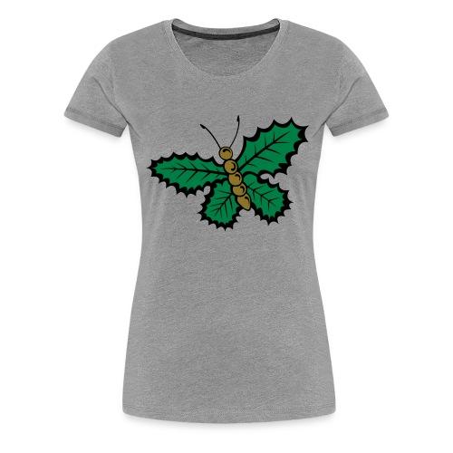 Papillon de noël - T-shirt Premium Femme