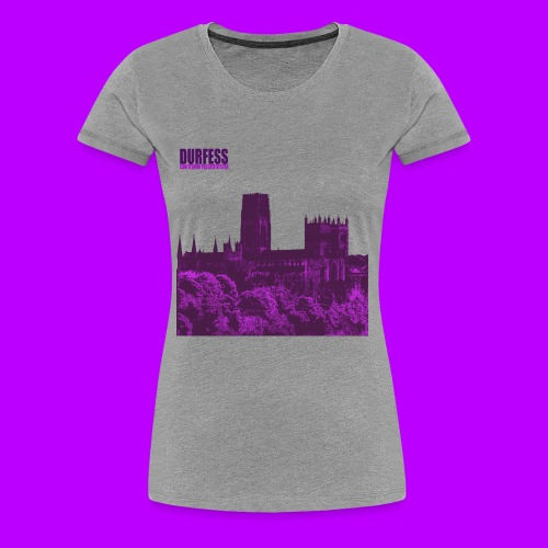 Square Durfess Logo - Cathedral Only - Women's Premium T-Shirt