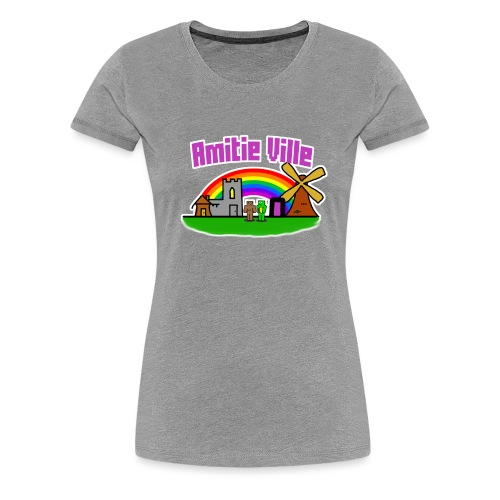 Amitie Ville Logo Shirt - Women's Premium T-Shirt