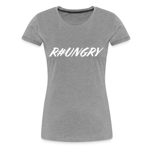 white1 - Women's Premium T-Shirt