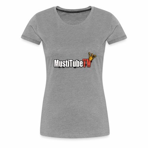 MustiTubeTV - Premium-T-shirt dam
