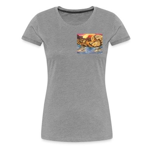 tee shirt sur la corse - T-shirt Premium Femme