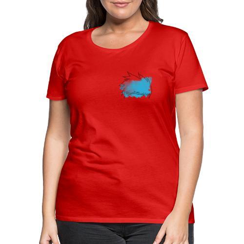 Blue Splat Original - Women's Premium T-Shirt