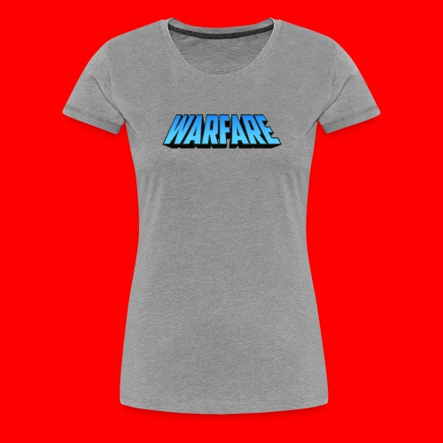 Warfare 2018 Logo Printed Merchandise - Women's Premium T-Shirt