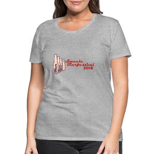 Smeele Bierfestival 2018 - Vrouwen Premium T-shirt
