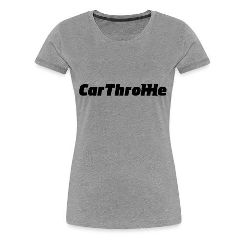 Car Throttle Logo - Women's Premium T-Shirt