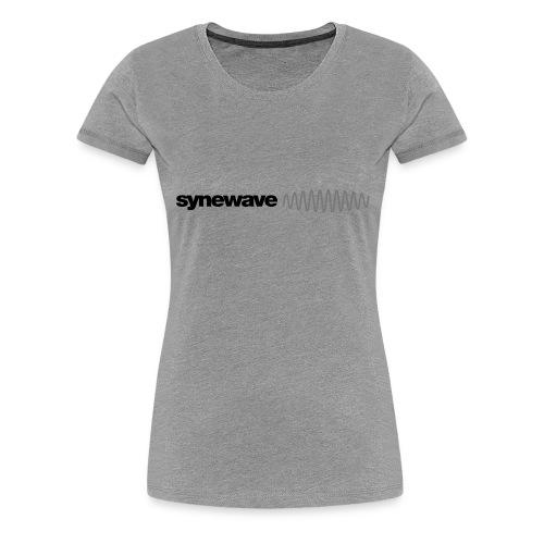 Synewave 2016 Ltd. Edition Black on Black Hoodie - Women's Premium T-Shirt