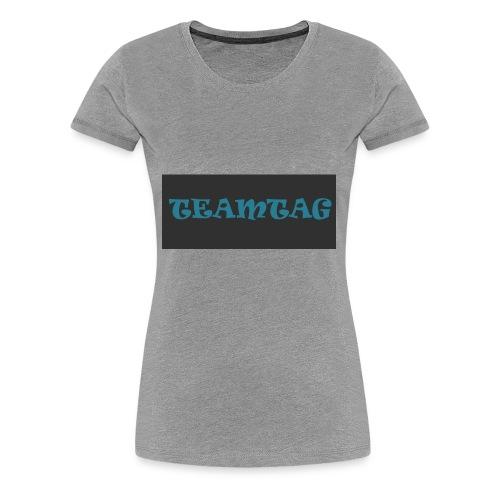 #TEAMTAG Clothing Line 1 - Women's Premium T-Shirt