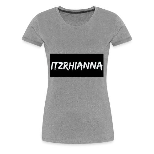 Itzrhianna apparel - Women's Premium T-Shirt