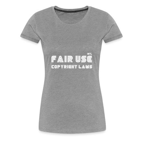 laws - Women's Premium T-Shirt