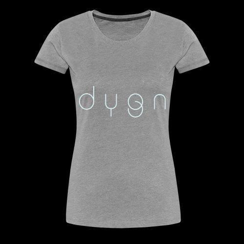 Dygn logo by Monsi Barrionuevo - Women's Premium T-Shirt