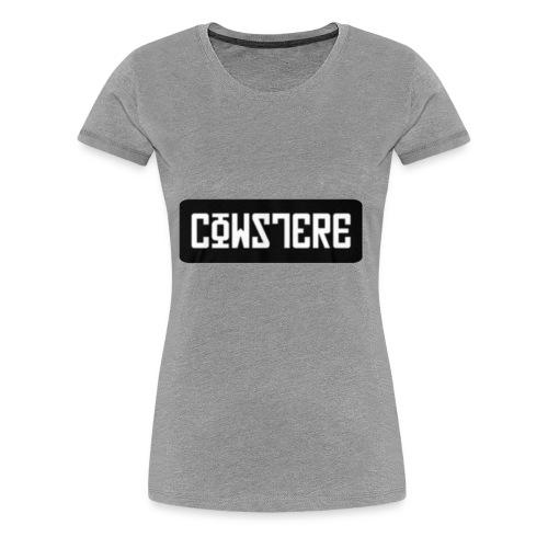 'CowsterE - Women's Premium T-Shirt