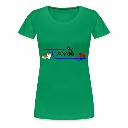 Tayola Black - T-shirt Premium Femme