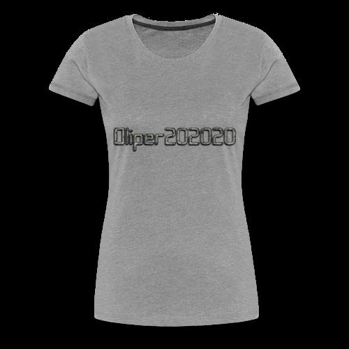 Oliper202020 cracked stone - Dame premium T-shirt