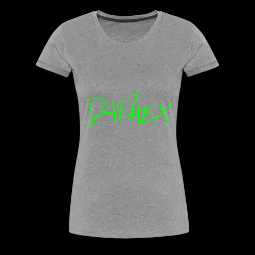 DAPHEX neongreen - Frauen Premium T-Shirt