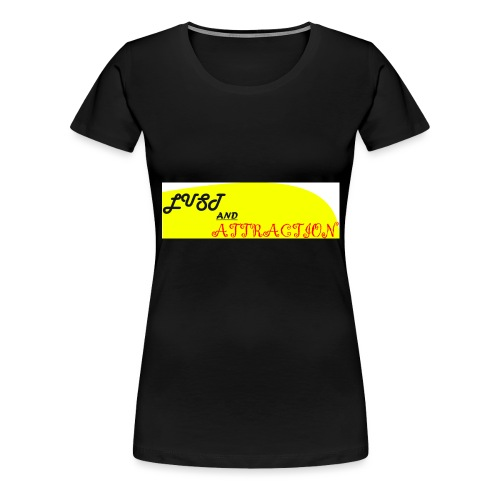 lust ans attraction - Women's Premium T-Shirt