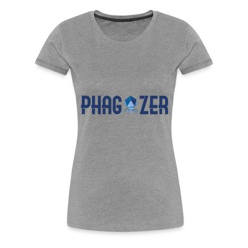 logo Phagyzer - T-shirt Premium Femme