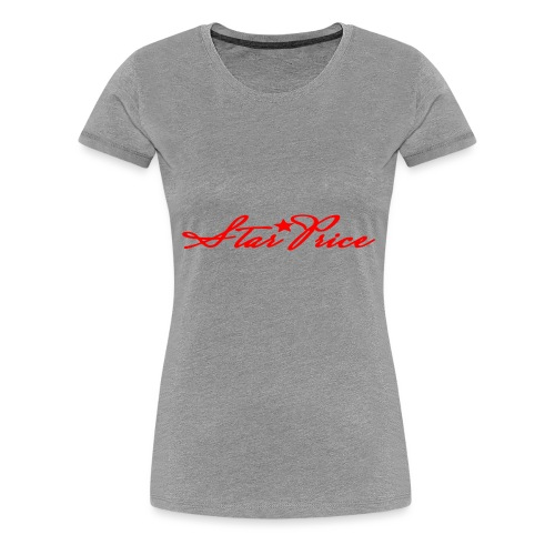 star price (red) - Women's Premium T-Shirt