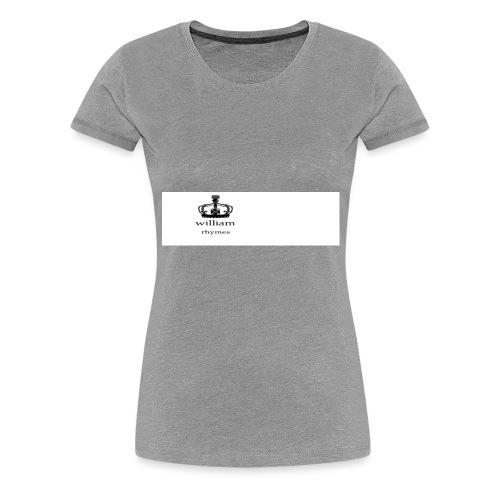 william - Women's Premium T-Shirt