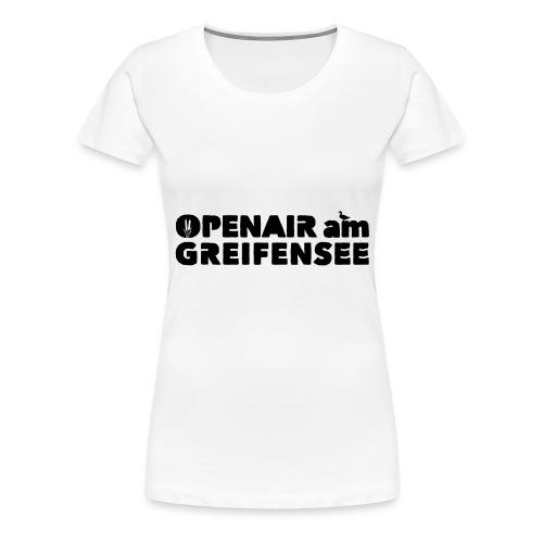Openair am Greifensee 2018 - Frauen Premium T-Shirt