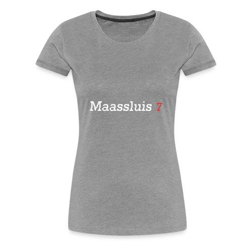 Maassluis 7Seven - White Edition - Vrouwen Premium T-shirt