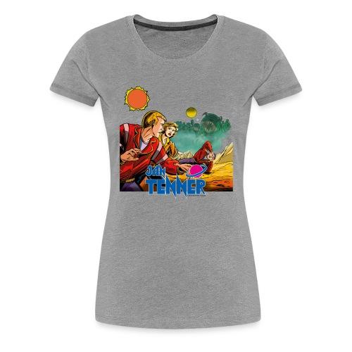 Jan Tenner Der lautlose Tod - Frauen Premium T-Shirt