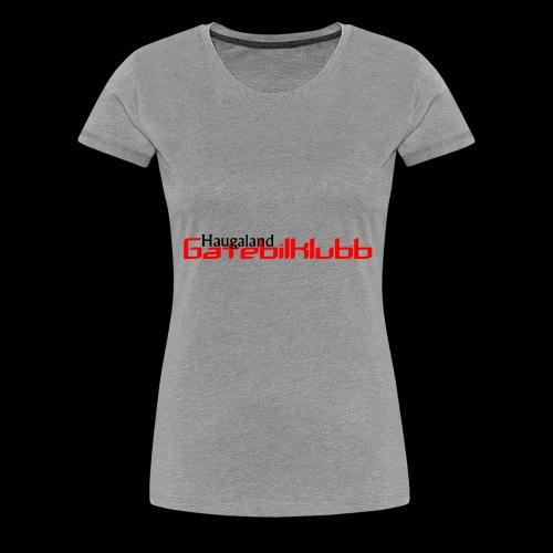 LogoHGK copy - Premium T-skjorte for kvinner