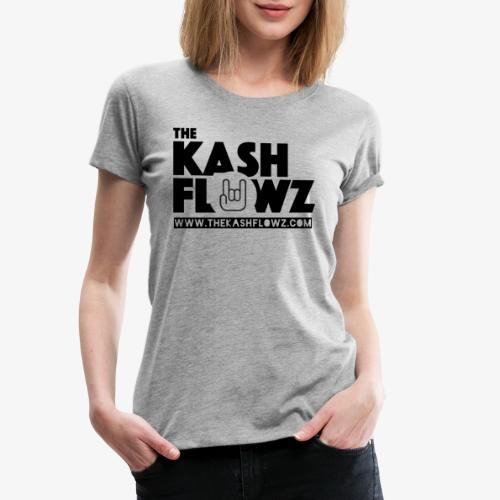 The Kash Flowz Official Web Site Black - T-shirt Premium Femme