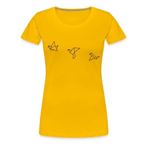 Vögel - Frauen Premium T-Shirt