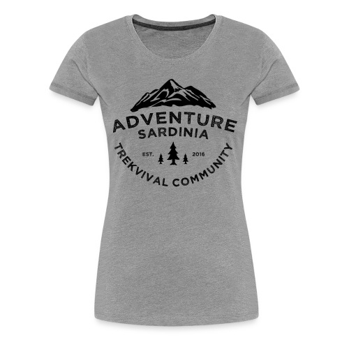 Adventure Sardinia - Maglietta Premium da donna