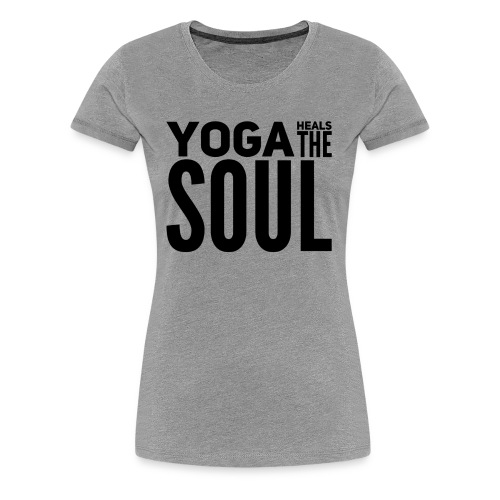 yogalover - Vrouwen Premium T-shirt