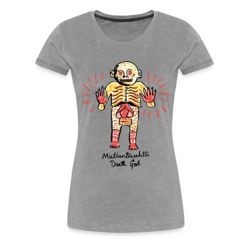 Mexican Death God - Women's Premium T-Shirt