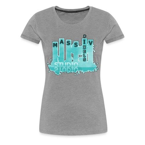 Massiv Pixels Studio - Frauen Premium T-Shirt