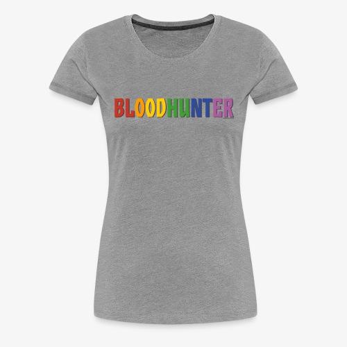 Bloodhunter Pride (Rainbow) - Women's Premium T-Shirt