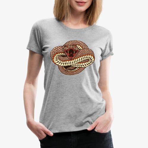 Wild und gefährlich - Frauen Premium T-Shirt
